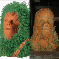Chewbacca Chia Petat least it was a fun activity with my  year old son