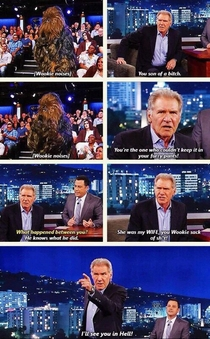 Chewie Shot First