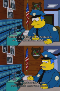 Chief Wiggum is such an underrated character