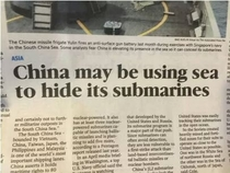 China you so sneaky