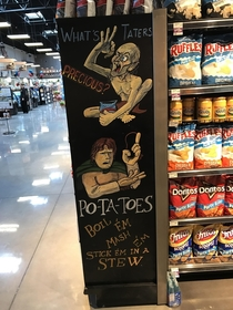 Chip aisle at my local supermarket