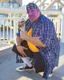 Cholo Thanos amp the Infinity Chancla at San Diego Comic-Con