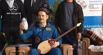 Chris Hadfield was recently crowned King of Space in Kazakhstan