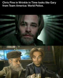 Chris Pine in World Police
