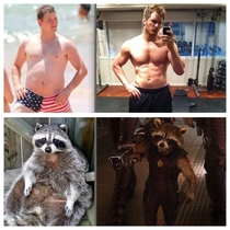 Chris Pratt isnt the only one who worked out for Guardians of the Galaxy