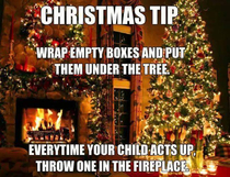 Christmas tips for parents