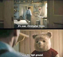 Christopher Robin goes to the dark side