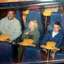 Circa  Me taking my Best Friend on his first rollercoaster