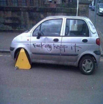 Clamping is funny sometimes