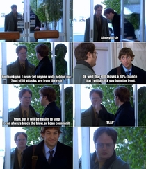 Classic Jim amp Dwight moment from The Office