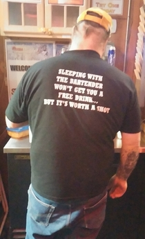 Classy bartender t-shirt is classy