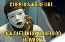 Clippers fans be like