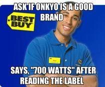 Clueless Best Buy Employee