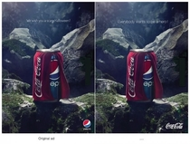 Coca Cola vs Pepsi advertisements