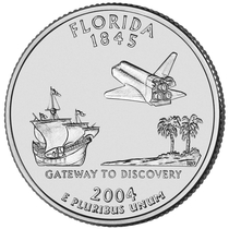 Coin commemorating The Pirate and Astronaut War of