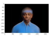 Combined faces of the  best rappers of all time