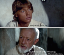 Come on Obi-Wan tell the truth