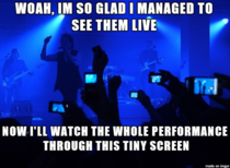 Concerts nowadays