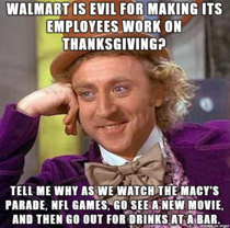 Condescending Wonka on Wal-Mart