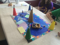 Cones of Dunshire game for Fathers Day complete with an insane rulebook The kids are big Parks amp Rec fans