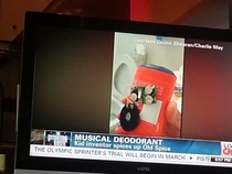 Congrats reddit We made the kid inventor of the musical deodorant get on cnn