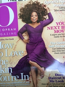 Congratulations to Oprah for making the cover of O magazine for the th consecutive time How does she do it