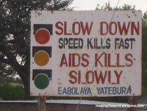consider yourself strongly warned African style