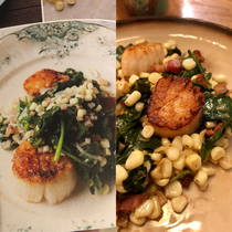 Cookbook vs my humble attempt