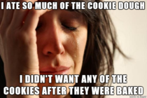 Cookie Dough Problems