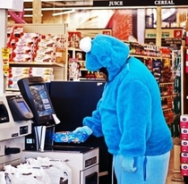 Cookie Monster hasnt been the same since the divorce