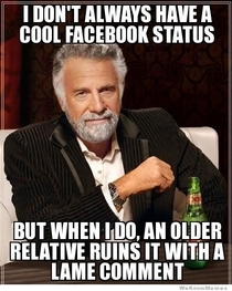 Cool status and relatives