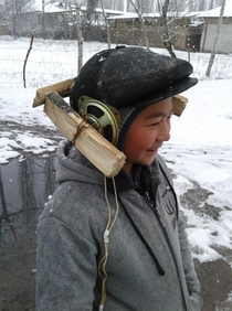 Coolest Mongol kid in Mongolia