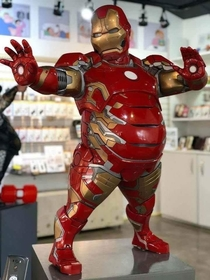 Corporate Iron Man