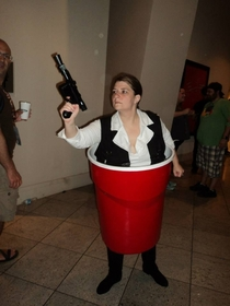 Cosplay comedy Han Solo Cup