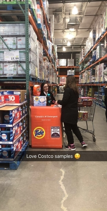 Costco  feeding the kids of today