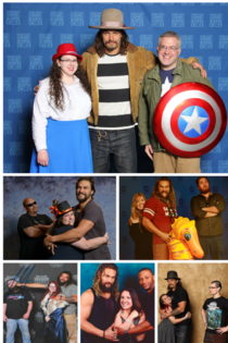 Couples meeting Jason Momoa
