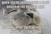 Courteous drivers make the world better