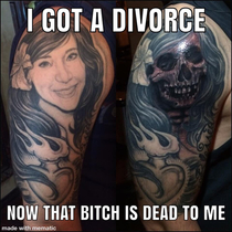 Cover up your ex wifes face
