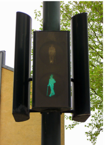 Crosswalk Signs in Denmark- Classy as Fuck