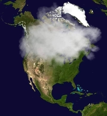 Current satellite image of Canada legalize