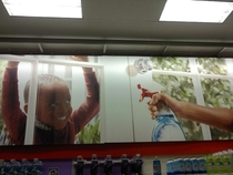 Dad sent me this picture telling me he found an urban youth repellant at target