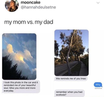 Dads are there to keep you grounded with medium level roasts