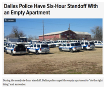 Dallas Police at its best