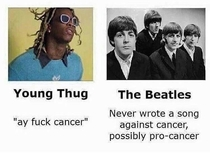 Damn Beatles thats harsh
