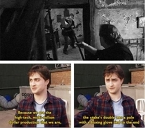 Daniel Radcliffe talks about filming the penultimate Harry Potter film