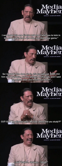 Danny Trejo on where he studied