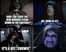Darth Vader has the darkest puns in the galaxy