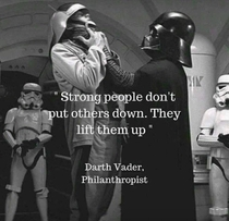 Darth Vader said the truth