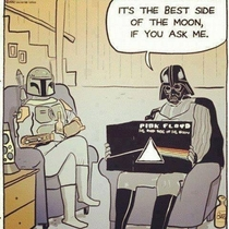 Darth Vaders music taste is pretty good