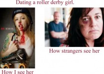 Dating a roller derby girl